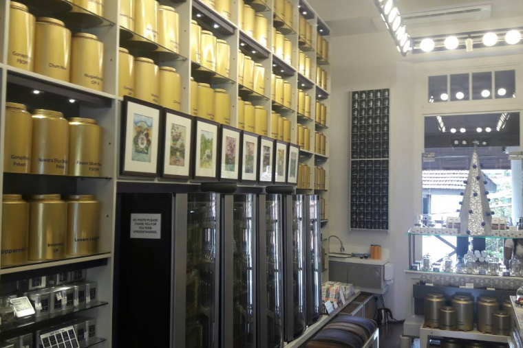 The Withered Leaves Tea & Spice Company