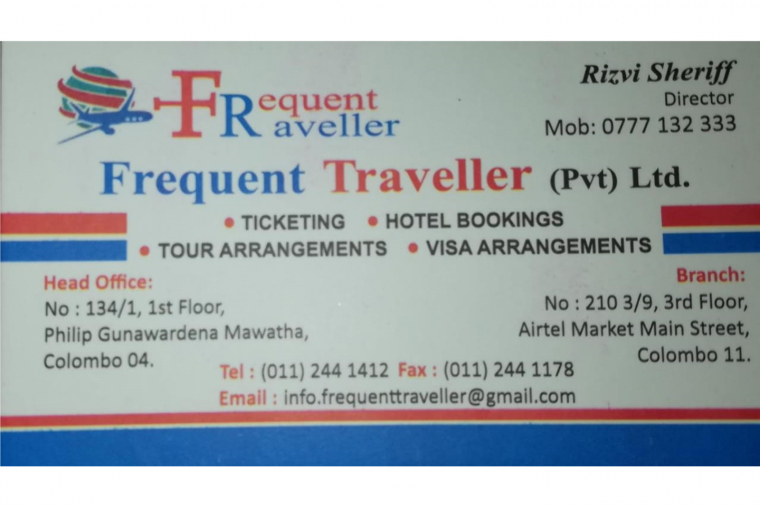 Frequent Traveller (Pvt) Ltd.