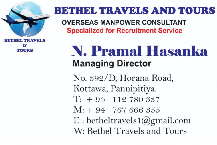 BETHEL TRAVELS AND TOURS